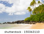 View Of Turtle Bay In A Summer...