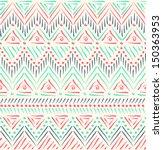 tribal ethnic seamless pattern | Shutterstock . vector #150363953