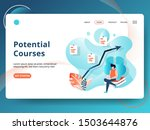 landing page potential courses...
