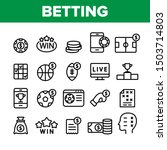 betting football game... | Shutterstock .eps vector #1503714803