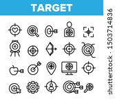 target aim collection elements... | Shutterstock .eps vector #1503714836