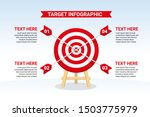 target infographic with four... | Shutterstock .eps vector #1503775979