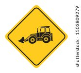 excavator heavy machinery road...   Shutterstock .eps vector #1503809279