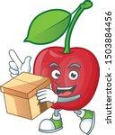 With Box Cartoon Bing Cherries...
