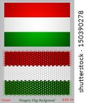 hungary flag background | Shutterstock .eps vector #150390278