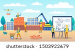 engineers are considering a... | Shutterstock .eps vector #1503922679