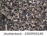 wood chip kids play area floor...   Shutterstock . vector #1503933140