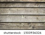 pine fence with central knot...   Shutterstock . vector #1503936326