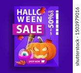 halloween sale  creative...   Shutterstock .eps vector #1503979016