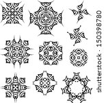 tattoo tribal design | Shutterstock . vector #150398780