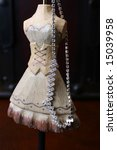 ballerina style jewelery stand... | Shutterstock . vector #15039958