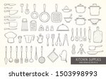 big set of 52 hand drawn... | Shutterstock .eps vector #1503998993