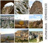 Travel Collage Visit Cappadoci...