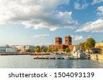 oslo city hall in pipervika...   Shutterstock . vector #1504093139