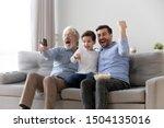 Excited Three Generation Men...