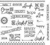 adventure,attitude,banner,border,bravery,cheerful,collage,collection,courage,curl,decoration,decorative,design,divider,doodle