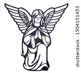 Laser Cutting Template. Angel...