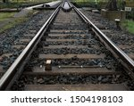 Railroad Track Vanishing In Th...