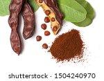 Carob Beans. Healthy Organic...