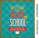 back to school design. vector... | Shutterstock .eps vector #150428069
