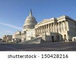 Stock photo us capitol building washington dc 150428216