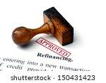 refinancing | Shutterstock . vector #150431423
