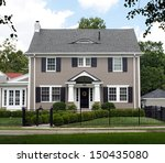 stately two story house | Shutterstock . vector #150435080
