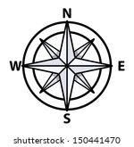 vintage compass   vector... | Shutterstock .eps vector #150441470