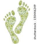 vector illustration of green... | Shutterstock .eps vector #150446249