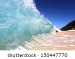 Shore Breaking Wave