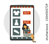 online shopping app in the...