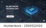 5g network processor... | Shutterstock .eps vector #1504522433