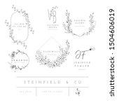 vector set of line design...   Shutterstock .eps vector #1504606019