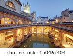 Roman Baths At Avon England