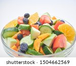Mixed Vegetable Salad With...