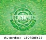 unusually realistic green... | Shutterstock .eps vector #1504685633