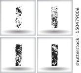 grunge letter   Shutterstock .eps vector #150479006