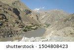 view on wakhan corridor in... | Shutterstock . vector #1504808423