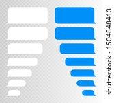 Message Bubbles Design Template ...