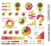 vector infographic elements and ... | Shutterstock .eps vector #150490214