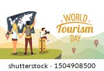 "cute poster for ""world tourism... 