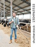 Young Successful Farmer With...
