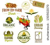 badge,banner,barn,business,car,city,city buildings,corn,design,emblem,farm,field,food,fresh,fruits