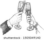 vector illustration of new year ... | Shutterstock .eps vector #1505049140