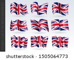 3d waving flag of united... | Shutterstock .eps vector #1505064773