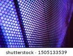 closeup led blurred screen. led ... | Shutterstock . vector #1505133539