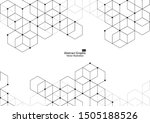 abstract boxes background.... | Shutterstock .eps vector #1505188526