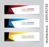 design banner.abstract... | Shutterstock .eps vector #1505192720