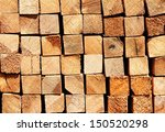 wooden boards in a warehouse of ... | Shutterstock . vector #150520298