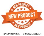 new product ribbon. new product ...   Shutterstock .eps vector #1505208830